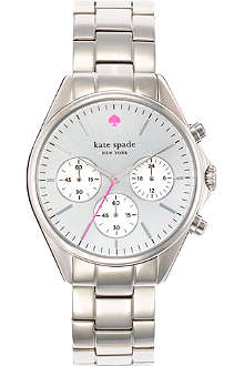 KATE SPADE Seaport stainless steel chronograph watch