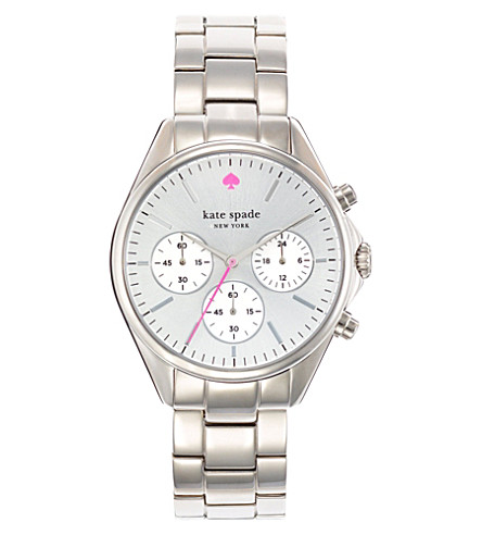 KATE SPADE Seaport stainless steel chronograph watch (Steel