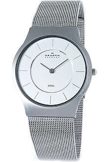 SKAGEN 233LSS stainless steel watch