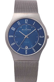 SKAGEN 233XLTTN titanium watch