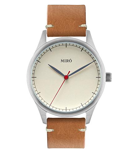MIRO Classic creme watch