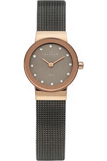 SKAGEN 358XSRM steel mesh watch