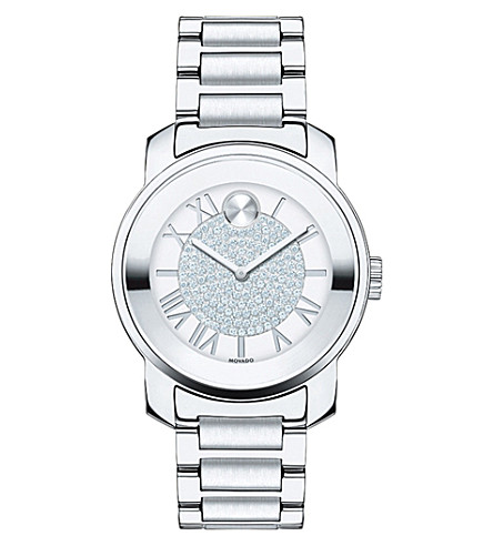 MOVADO 3600254 Bold stainless steel and crystal watch