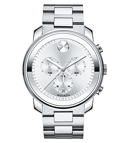 MOVADO 3600276 Bold silver-tone stainless steel watch