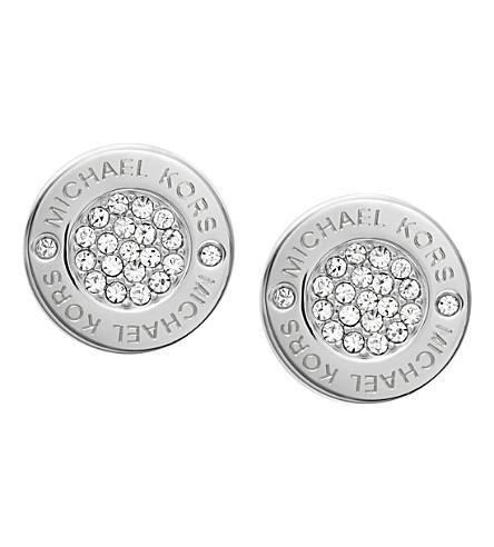 MICHAEL KORS Brilliance pavé stud earrings