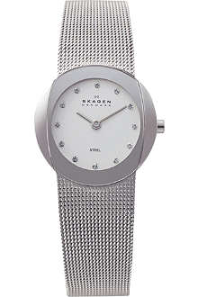 SKAGEN 589SSS stainless steel watch