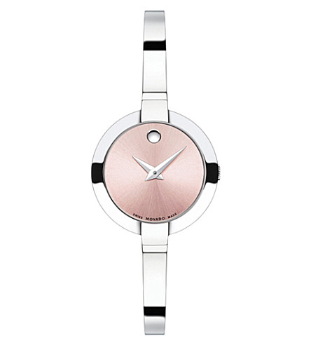 MOVADO 0606596 Bela stainless steel watch (Pink