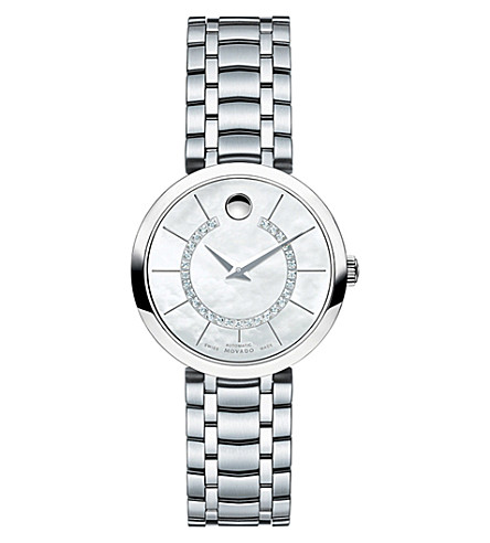 MOVADO 0606920 1881 automatic watch (Silver
