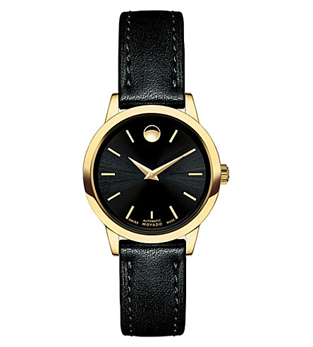 MOVADO 0606925 1881 automatic stainless steel watch (Black