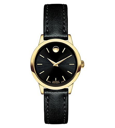 MOVADO 0606925 1881 全自动不锈钢表 (黑色