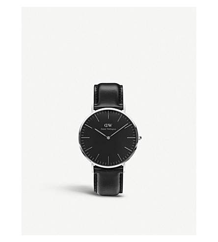 DANIEL WELLINGTON Classic Sheffield stainless steel watch