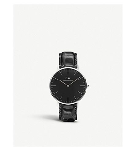 DANIEL WELLINGTON Classic York stainless steel watch