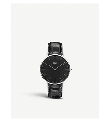 DANIEL WELLINGTON 经典约克不锈钢手表