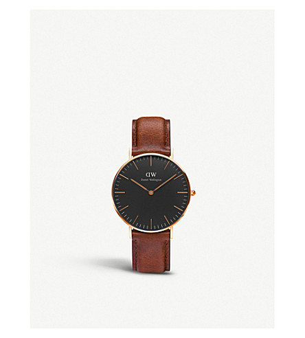DANIEL WELLINGTON Classic St. Mawes rose gold watch