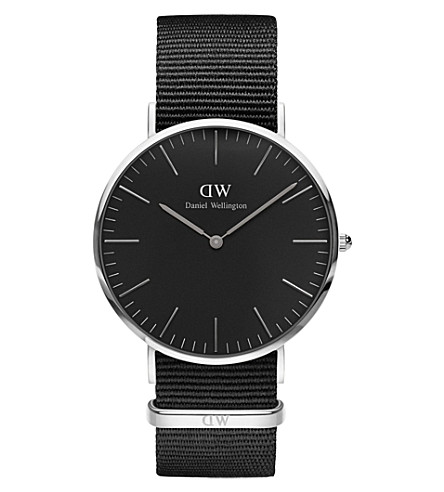 DANIEL WELLINGTON Classic Cornwall stainless steel watch