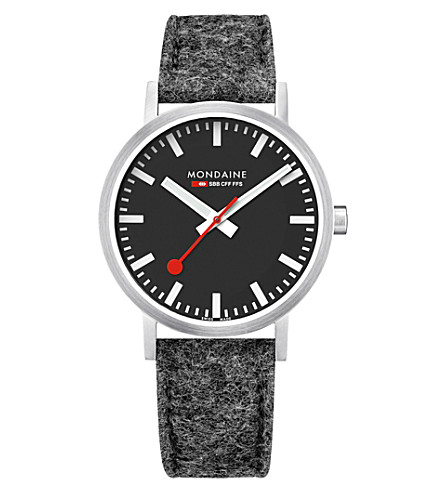 MONDAINE A660.30360.14SBH SBB Classic stainless steel watch
