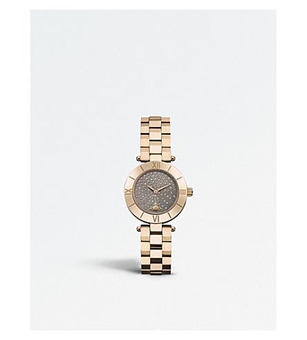 VIVIENNE WESTWOOD VV092CHRS Westbourne PVD 玫瑰镀金手表