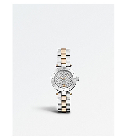 VIVIENNE WESTWOOD VV092SSRS Westbourne stainless steel watch