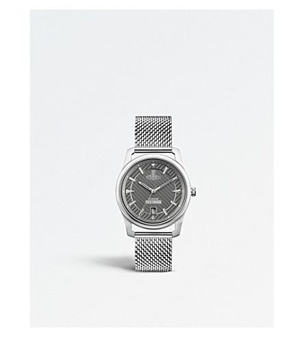 VIVIENNE WESTWOOD VV185GYSL Holborn stainless steel watch