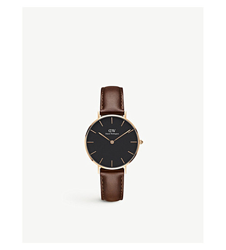 DANIEL WELLINGTON Classic Petite rose gold watch
