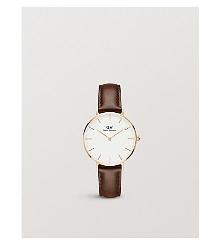DANIEL WELLINGTON Classic Petite rose gold watch