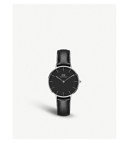 DANIEL WELLINGTON Classic Petite Sheffield silver watch