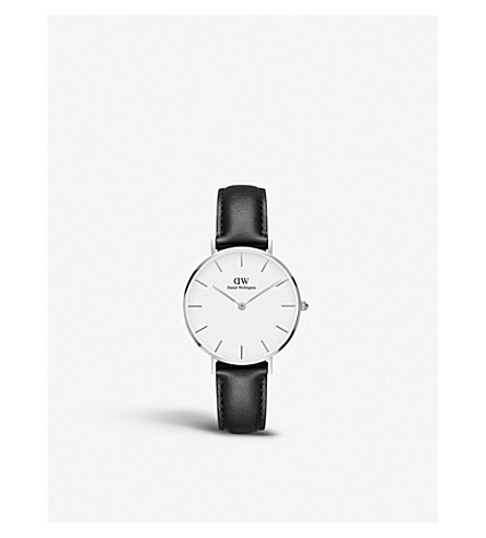 DANIEL WELLINGTON Classic Petite silver watch