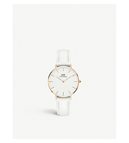 DANIEL WELLINGTON Classic Petite Bondi rose gold watch