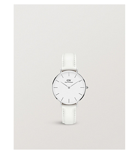 DANIEL WELLINGTON Classic Petite Bondi silver watch