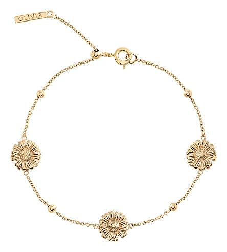 OLIVIA BURTON Daisy 18ct gold-plated bracelet