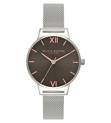 OLIVIA BURTON 674287 midi stainless steel watch