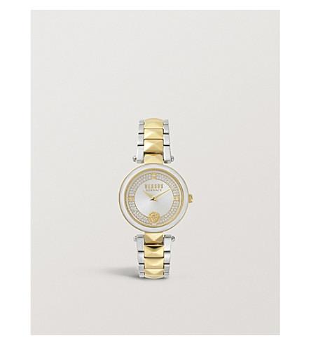 VERSUS Covent Garden stainless steel watch