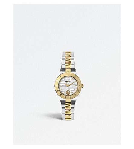 VERSUS New Logo stainless steel watch
