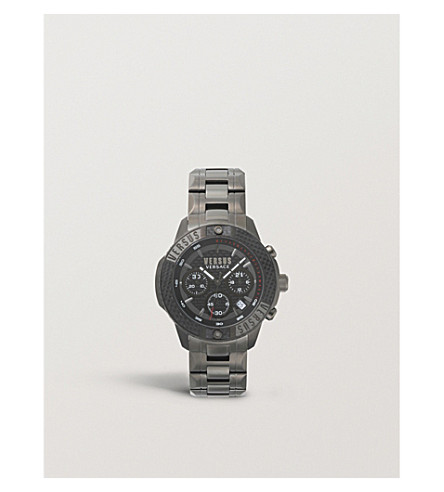 VERSUS Admirality stainless steel watch