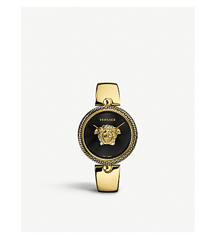 VERSACE 674997 Palazzo Empire gold-plated stainless steel quartz watch