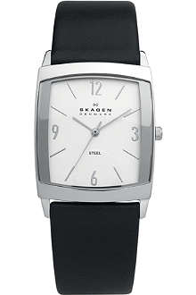 SKAGEN 691LSLS stainless steel square face watch