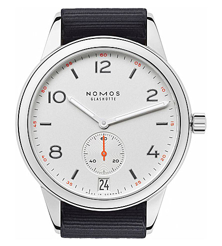 NOMOS GLASHUTTE 775 Club Automat Datum watch