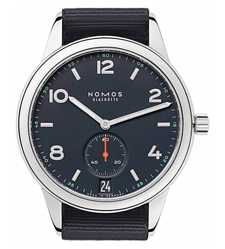 NOMOS GLASHUTTE 776 Club Automat Datum Atlantik watch
