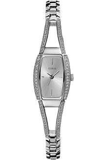 GUESS Tonneau women's bracelet watch