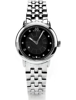 88 RUE DU RHONE 87WA120003 stainless steel diamond-set watch