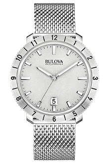 BULOVA 96B206 Moonview Accutron II stainless steel watch