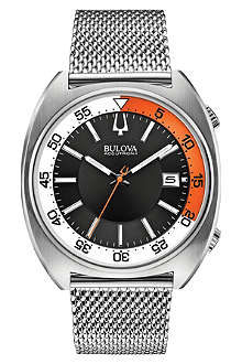 BULOVA 96B208 Snorkel Accutron II stainless steel watch