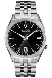 BULOVA 96B214 Surveyor Accutron II stainless steel watch