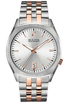 BULOVA 98B220 Surveyor Accutron II stainless steel watch