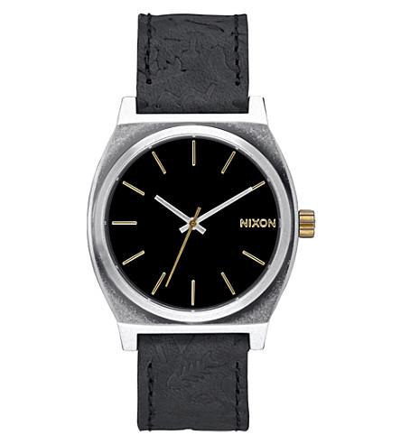 NIXON A045-2222 Time Teller Watch (Black