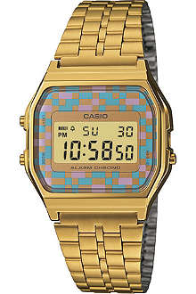 CASIO A159WGEA4AEF gold-plated digital watch