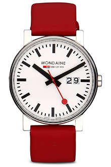MONDAINE A6273030311SBC Evo Big Size leather watch