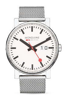 MONDAINE A6273030311SBB Evo Big Size stainless steel watch