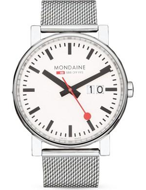 MONDAINE A6273030311SBB Evo Big Size stainless steel watch