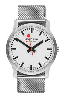 MONDAINE A6383035016SBM Simply Elegant stainless steel watch